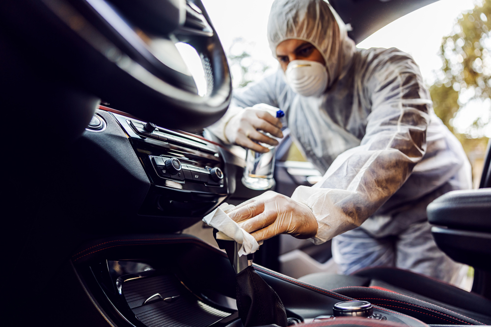 3 Cleaning Hacks To Keep Your Car Covid 19 Free Reflection Automotive Detailing